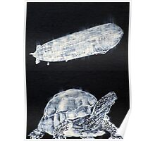 TURTLE AND ZEPPELIN Poster