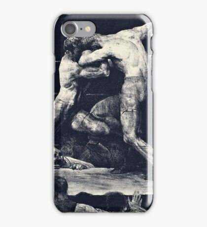 George Wesley Bellows  A Stag At Sharkeys  iPhone Case/Skin