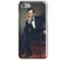 George Peter Alexander Healy - Abraham Lincoln iPhone Case/Skin