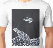 LIZARD AND THE RED BARON Unisex T-Shirt