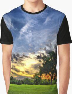 Green Paradise Graphic T-Shirt