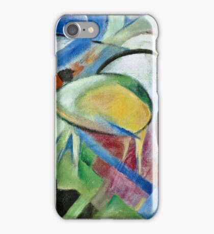 Franz Marc - The Sheep 1913 - 1914  iPhone Case/Skin