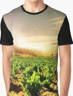 Grapes Land Graphic T-Shirt