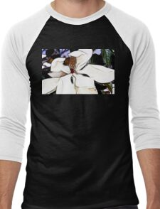 Magnolia Flower Men's Baseball ¾ T-Shirt