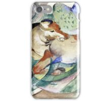Franz Marc - Jumping Horse  iPhone Case/Skin