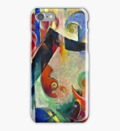 Franz Marc - Broken Forms  iPhone Case/Skin