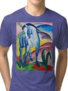 Franz Marc - Blue Horse I (1911)  Tri-blend T-Shirt