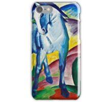 Franz Marc - Blue Horse I (1911)  iPhone Case/Skin