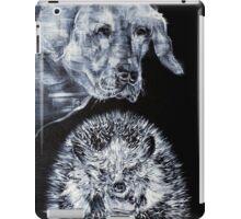 LABRADOR AND HEDGEHOG iPad Case/Skin