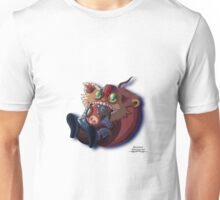 League of Legends Chibi Ziggs Character. Unisex T-Shirt