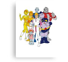 Mighty Orbts - Group Canvas Print