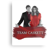 Team Caskett Metal Print