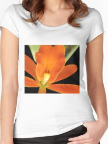 Carrot Top - Orchid Alien Discovery Women's Fitted Scoop T-Shirt