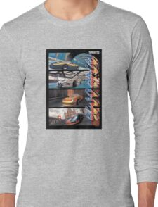 Sega Scudrace Long Sleeve T-Shirt