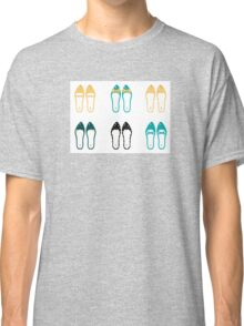 Cute Shoes collection. Vector Illustration Classic T-Shirt