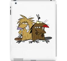 Angery Beavers - Norbert & Dagget - Group iPad Case/Skin