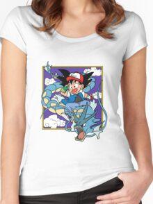 Dragon Pokemon Women's Fitted Scoop T-Shirt