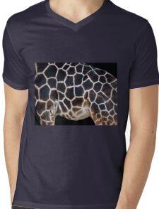 All Natural Canvas Mens V-Neck T-Shirt