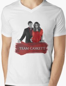 Team Caskett Mens V-Neck T-Shirt