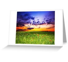 Peace Land Greeting Card
