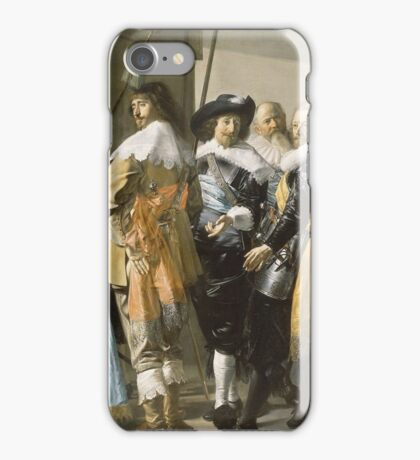 Frans Hals - De Magere Compagnie iPhone Case/Skin