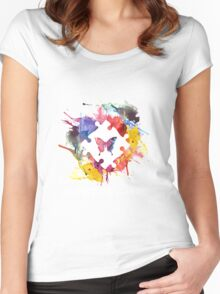 Autistic & Brave Autism Awareness Women's Fitted Scoop T-Shirt