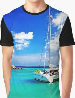 Yacht Graphic T-Shirt