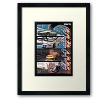 Sega Scudrace Framed Print