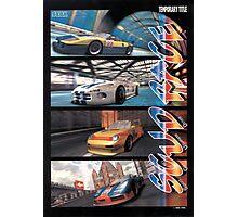 Sega Scudrace Photographic Print