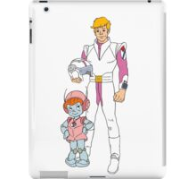 Mighty Orbts - Ohno and Commander Simmons iPad Case/Skin