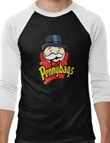 Pennybags Men's Baseball ¾ T-Shirt