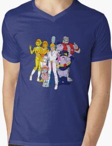 Mighty Orbts - Group Mens V-Neck T-Shirt