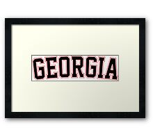 Georgia Framed Print