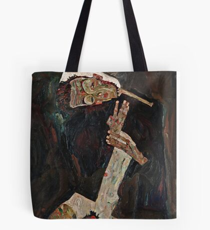 Egon Schiele - The Lyricist (1911)  Tote Bag