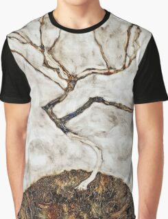 Egon Schiele - Small Tree in Late Autumn (1911)  Graphic T-Shirt