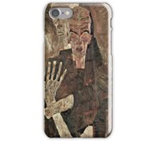 Egon Schiele - Self Seer II (Death and Man) (1911)  iPhone Case/Skin