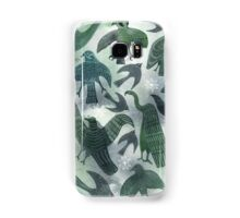 Ancient Green Birds Samsung Galaxy Case/Skin