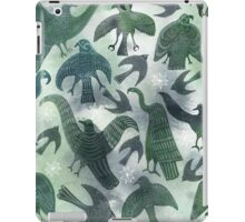 Ancient Green Birds iPad Case/Skin