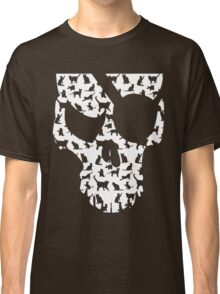 skull and cats  Classic T-Shirt