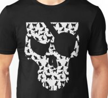 skull and cats  Unisex T-Shirt