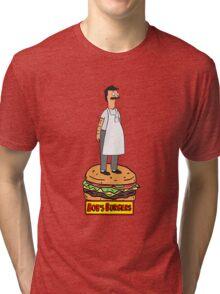 Bobs Burgers- Bob Belcher Tri-blend T-Shirt