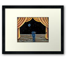 Homesick at Space Camp Framed Print