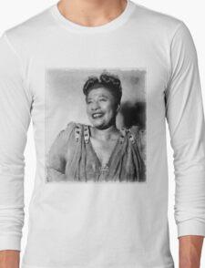 Ella Fitzgerald Singer Long Sleeve T-Shirt