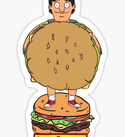 Bobs Burgers- Gene Belcher Sticker
