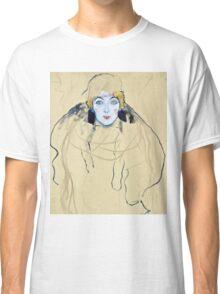 Gustav Klimt - Head Of A Woman  Classic T-Shirt