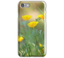 Yellow Poppies iPhone Case/Skin