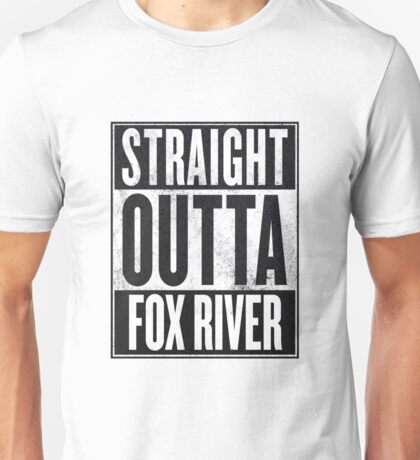 Prison Break - Straight Outta Unisex T-Shirt