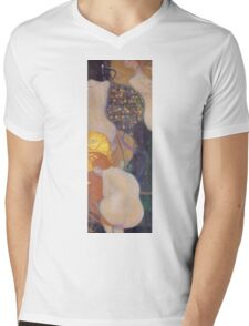 Gustav Klimt - Goldfish 1901 Mens V-Neck T-Shirt