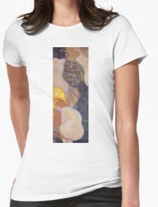 Gustav Klimt - Goldfish 1901 Womens Fitted T-Shirt
