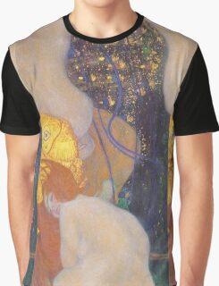 Gustav Klimt - Goldfish 1901 Graphic T-Shirt